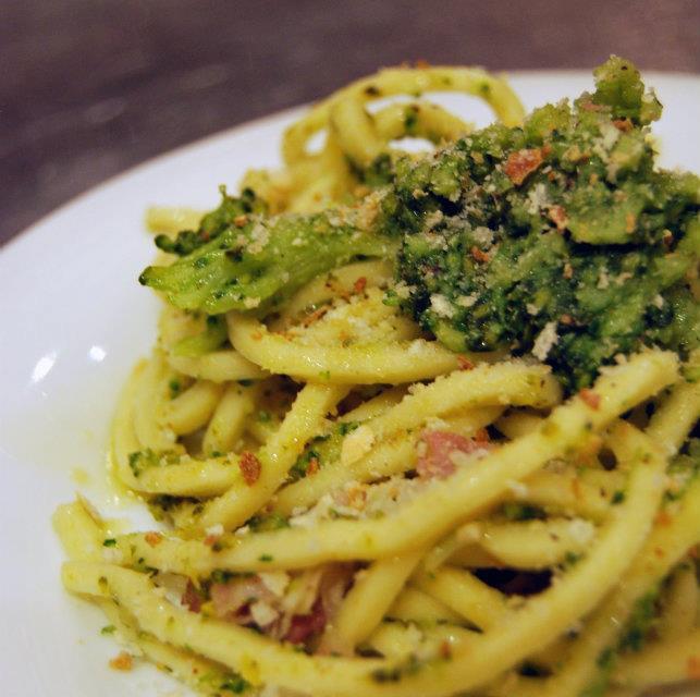 Pici con broccoli e pancetta -BFSR Autunnali 6